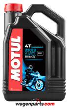 Aceite Motos 4T Motul 3000 20W50, 4 litros