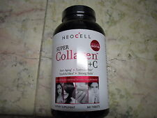 New 6 X 360 Tablets Neocell Super Collagen + C  5,000 MCG Biotin Product of USA