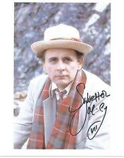 Sylvester McCoy as Doctor Who hand signed photo UACC AFTAL Dealer lifetime COA