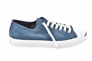 Converse Unisex Jack Purcell Oxford Suede Navy Trainers Size UK 8
