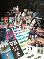 VALLEJO 17ml ACRYLIC PAINT CHOOSE 3 FROM COMPLETE RANGE