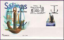 ESPAÑA SOBRE 1º DÍA 2004 SALINAS. MUSEO DE ANCLAS. ASTURIAS
