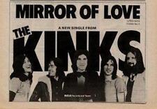 Kinks Mirror of Love UK '45 advert 1974