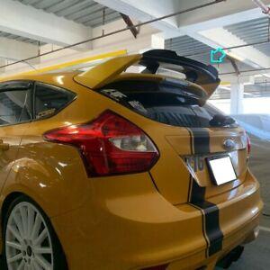 Stock 648 HPDL Add-on RS Rear Trunk Spoiler For 2011~18 Ford Focus MK3 Hatchback
