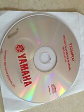 Yamaha YZ250F YZ 250 F ( X ) 2008 Workshop Service manual manuel atelier CD pdf