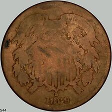 1869 2c Shield Two Cents