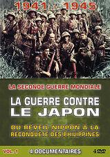 DVD La guerre contre le Japon Vol 1 - Coffret 4 DVD