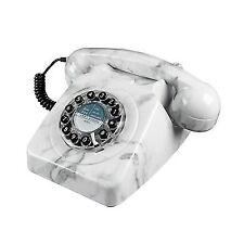 Wild and Wolf Retro 746 Telephone   Marble