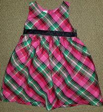 EUC Christmas Plaid Dress 24 months not smocked