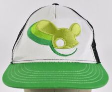 Green Deadmau5 Producer Logo Embroidered Trucker hat cap Adjustable Snapback
