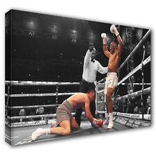 Anthony Joshua Heavyweight Champion Wembley ~ Canvas Print Wall Art ~ 5 Sizes