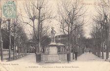 TOURNON 10 place carnot statue géné rampon éd vaschalde timbrée