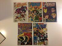 Lot of 5 West Coast Avengers #19 49 58 63 101 Marvel Comics (1987-1993)