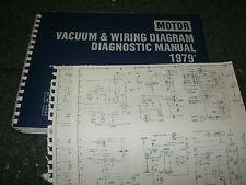 1979 OLDSMOBILE CUTLASS OMEGA WIRING VACUUM DIAGRAMS SCHEMATICS MANUAL SHEETS