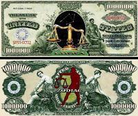 25 LAUREL /& HARDY MONEY NOVELTY FAKE  WHOLESALE  MILLION DOLLAR BILLS