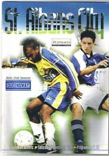St Albans City v Carshalton Athletic 1999/2000