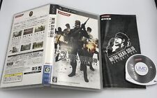 Metal Gear Solid Portable Ops Playstation PSP Japan Region-free COMPLETE white