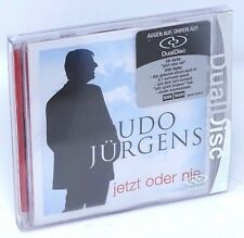 Udo JURGENS ora o mai più DUAL DISC 2005 Multichannel Dolby Digital 5.1 CD DVD