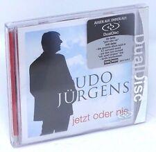 UDO JÜRGENS Jetzt oder nie DUAL DISC 2005 Multichannel Dolby Digital 5.1 CD DVD