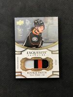 2018-19 UPPER DECK EXQUISITE TROY TERRY ROOKIE PATCH GOLD RP-TT #ed 227/299