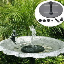 8V 1.4W Mini Solar Panel Brushless Water Pump Garden Floating Fountain Pool Plan