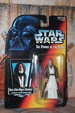 Obi-Wan Kenobi Star Wars Power Of The Force 2 1995 Red Card short saber