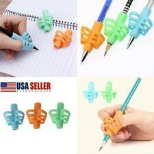 Aid Grip Pencil Kid Handwriting Help Learn Writing Finger Posture Correction USA