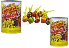 Bulk Lollies 200 x Starburst Sucks Lollipops 13g Candy Buffet Sweets Favors