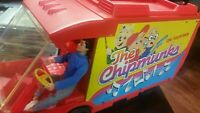 Vintage Ideal Alvin and The Chipmunks on tour van