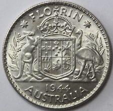 Australia. 1944 (M) Florin, Choice Uncirculated