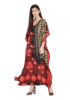 Kaftan Maxi Dress Tunic Boho Casual Summer Womens Caftan Plus Size Dress