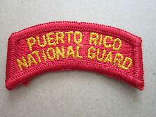 Puerto Rico National Guard US Military Woven Cloth Patch Badge