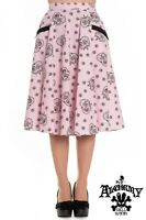 Hell Bunny Keepsake Rockabilly Pinup Swing Retro Vintage Skirt  2XL-4XL