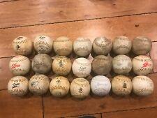 Lot Of (20) 1960'S 1970'S Used Softballs
