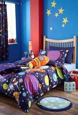Rocket Ships & Space Pictorial Home Bedding for Children
