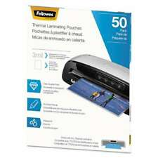 Fellowes Thermal Laminating Pouches 3 Mil 9 X 115 Matte Cl 043859736577
