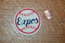 "Montreal Expos Vintage Defunct 2"" Circular Patch Baseball"