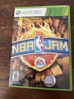 NBA Jam Microsoft Xbox 360 Complete in Box CIB with Manual - Ships FAST!