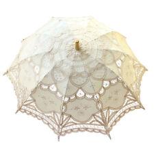 Lace Parasol Umbrella Beautiful Vintage Handmade For Bridal Wedding Photo Album