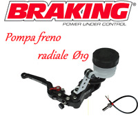 BRAKING POMPA FRENO RADIALE NERA  RS-B1 19mm Ducati Monster 1200 S 2017