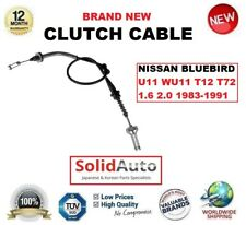 FOR NISSAN BLUEBIRD U11 WU11 T12 T72 1.6 2.0 1983-1991 CLUTCH CABLE OE QUALITY