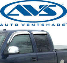 AVS 684953 Chrome Tape-On Window Ventvisors 4-Piece 1999-2016 Ford F250 F350