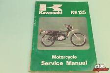 OEM KAWASAKI 1974-1979 KE125 MOTORCYCLE SERVICE MANUAL PART# 99997-709-03