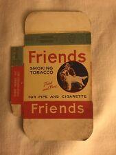 Friends Smoking Tobacco Dummy Display Package Lorillard Louisville KY Unused