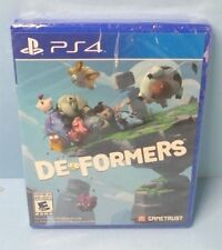 DEFORMERS/DE FORMERS PS4 SONY EXCLUSIVE RARE BRAND NEW FACTORY SEALED GAMETRUST