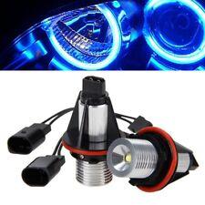 2x Car Blue LED Angel Eyes Halo Ring Marker Light Kit For X5 E39 E60 E63 E64 E53