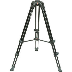 Manfrotto MVT502AM Aluminum Telescopic Twin Leg Video Tripod. EU Seller. NEW