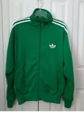 Adidas Originals Men's - Firebird Tracktop Track Suit Jacket Green-Large