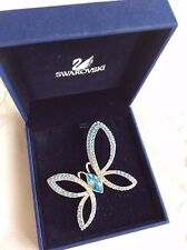 Swarovski signed Butterfly Brooch Retired rare boxed with certificate