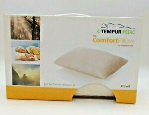 The Comfort Pillow by Tempur-Pedic  Soft Plush Feel Travel Memory Foam Pillow
